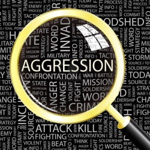 living in well being  agression image