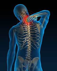 Neck pain Ankylosing Spondylitis  living in well being image