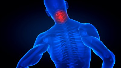 living in well being neck pain computer graphics image