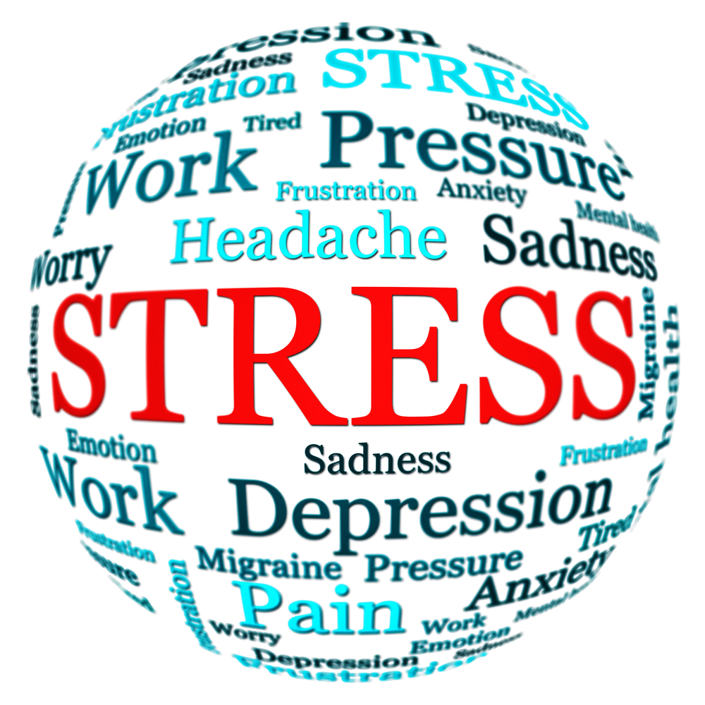 living  in well being stress