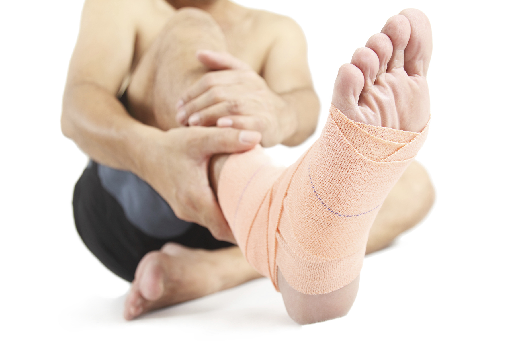 living in well being Foot sprain