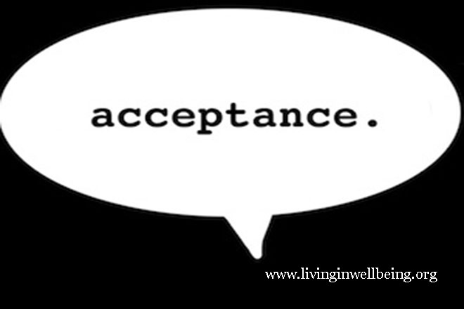 Acceptance and happiness