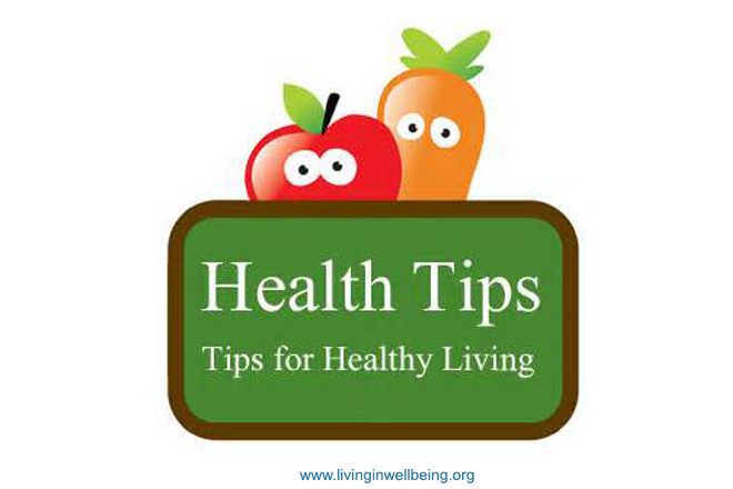 Healthy Living Tips – 13