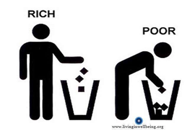 Some Things Rich and Poor do daily