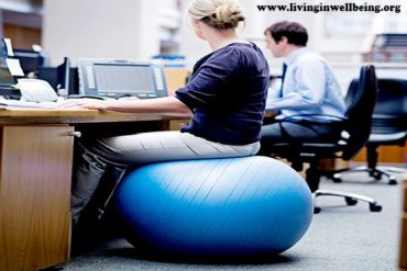 Health Benefits of Using Exercise Ball as A Chair