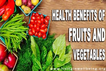 Health Benefits of Diet Rich in Fruits and Vegetables