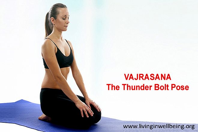 Health, Mental and Spiritual Benefits of Vajrasana Yoga