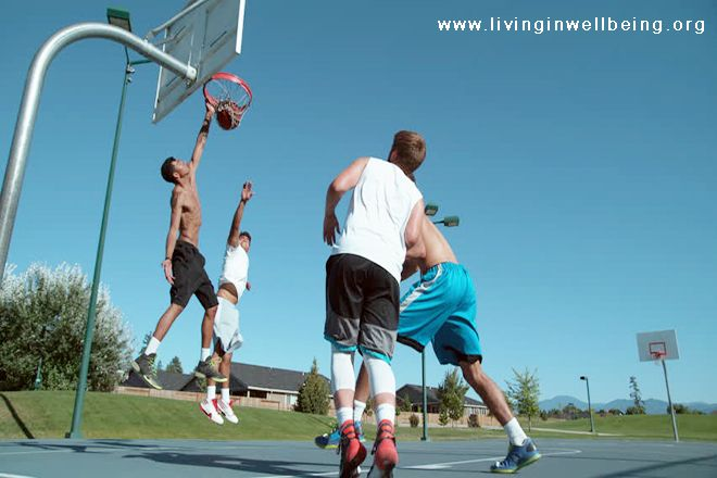 Health Benefits of Basketball Playing
